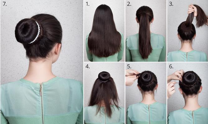 Frisuren mit duttkissen anleitung