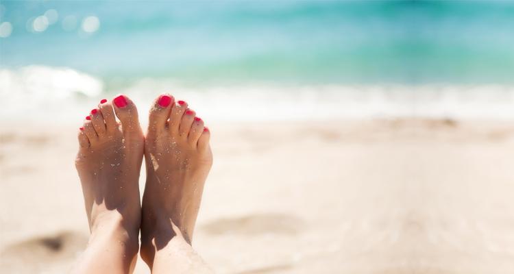 Gepflegte Füße für den Sommer